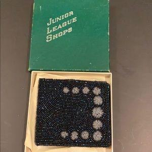 Vintage beaded wallet